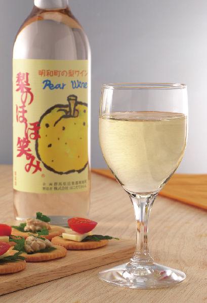 梨ワイン「梨のほほ笑み」