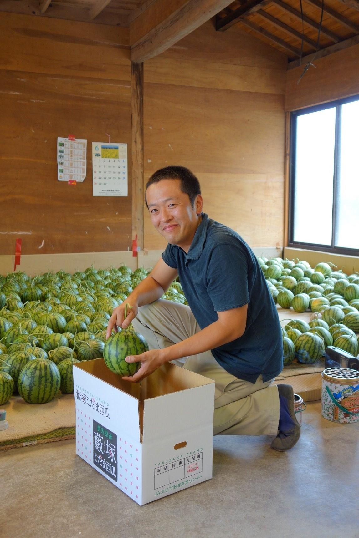 ぐんまの元気な生産者 伊藤さん